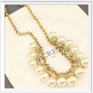 NWOT J. Crew Pearl Choker Necklace