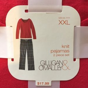 NWT Knit Pj Set