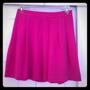 J crew pink skirt size 6