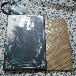 Elf good and evil and zoeva cocoa blend