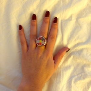 Marc Jacobs Flower Ring
