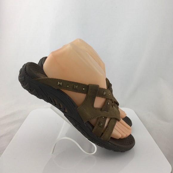 3fe55c48e4e Skechers Shoes - Skechers Leather Thong Sport Sandals Size 8 M New