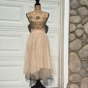 Dresses & Skirts - Sheer color skirt by LC