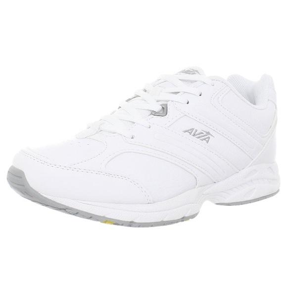 Avia A325 White Leather Walking Shoe