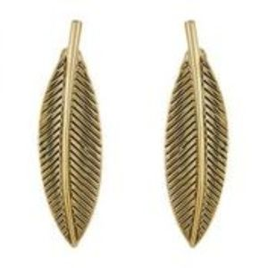 House of Harlow Sacred Leaf Earrings