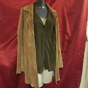 Wet Seal brown suede jacket