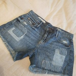 GAP patchwork girlfriend short