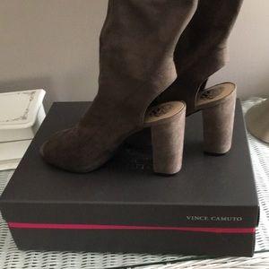 Vince Camuto microsuede heels, size 8.5