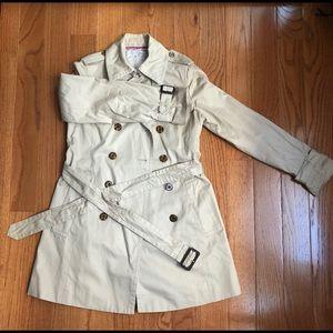 Banana republic trench coat XS