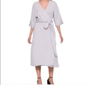Gap fleece wrap dress 👗💕