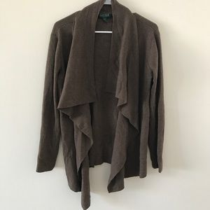 Ralph Lauren • 100% Merino Wool Cardigan