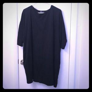 GAP Oversized black dress with pockets 🖤