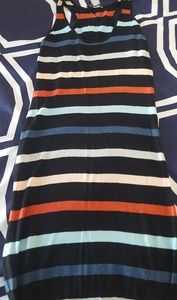 🖤 striped knit dress