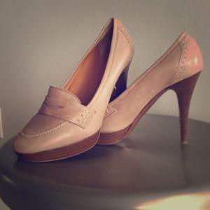 Jcrew Italian leather heels