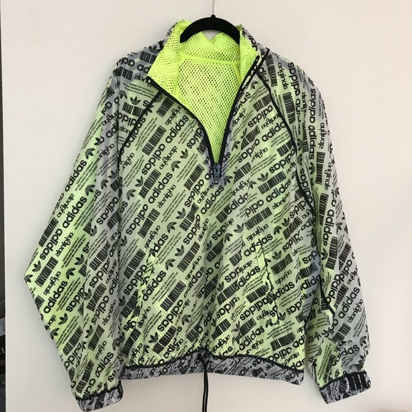 alexander wang originals jacket hoodie neonyellow Boutique
