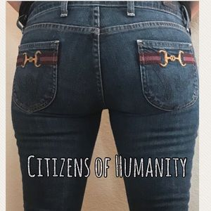 EUC Citizens of Humanity Straight Leg Jeans 28/33