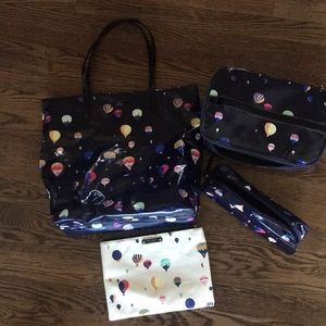 Kate Spade travel bag set