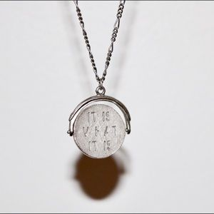 Spinner Pendant Necklace