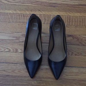 Black 14th & union high heels