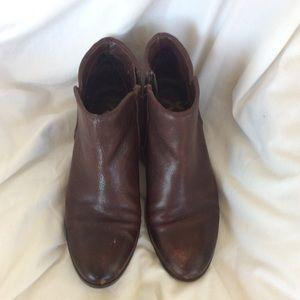 Sam Edelman 7.5 brown Petty boots