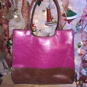 Mondani Fuchsia Pink Handbag Purse