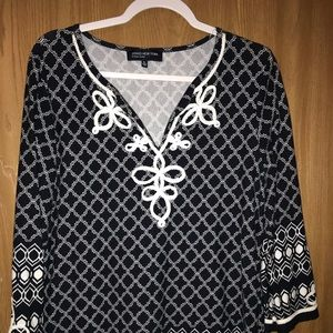 Beautiful Jones New York Shirt XL