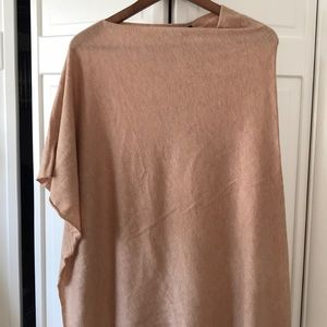 Ann Taylor pullover/cape sweater. Brand new.