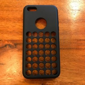 Other - Black Rubber iPhone 5c Cellular Phone Case