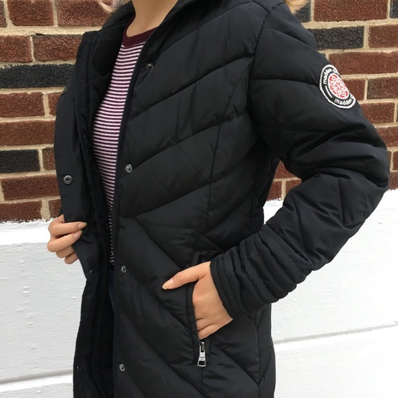 d9385411e89 ... end brand new autumn and winter female long black coat weatherproof  women windbreaker jacket-in Trench from Women s Clothing   Accessories on …  Long ...