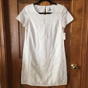 White dress from Old Navy