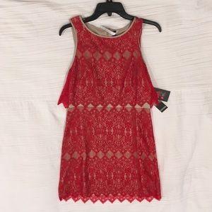 Kenzie Dress Size Medium- Red