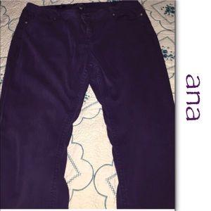 a.n.a. Skinny Jeans in Dark Plum