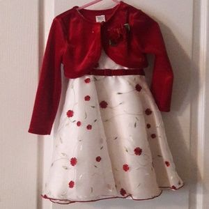 Beautiful 3T winter dress