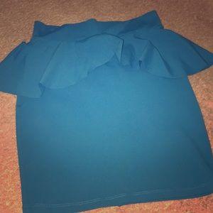 Bebe Peplum Size S Skirt