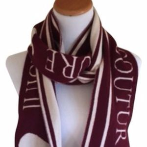 Juicy Couture Reversible Cashmere Scarf