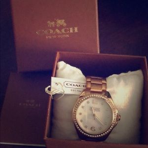 Rose Gold COACH Watch