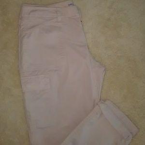 Gap Khakis in rose pink