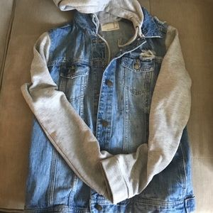 Forever 21 medium jean jacket