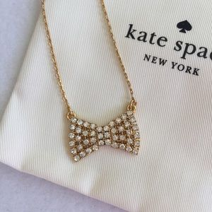 NEW Kate Spade Bow Necklace
