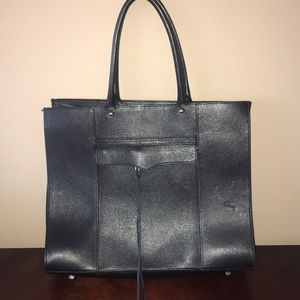 Rebecca Minkoff MAB classic black tote! Used once!