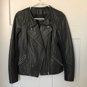Trouve leather jacket size small