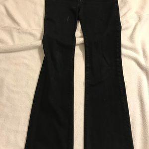 Paige jeans black size 29 super soft