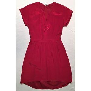 Madewell Dress 4 Red Short-Sleeved