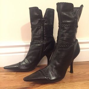 BCBGirls Black Heeled Boots