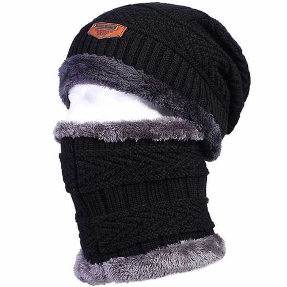 cd18c4793deb5 Winter Knit Skull Cap Lined Thick Warm Slouchy