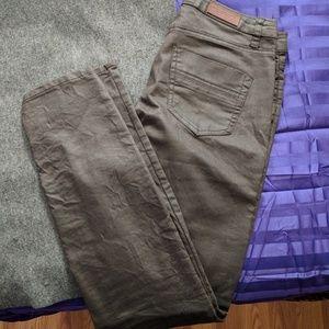 Dark brown jeans