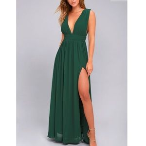 Forest Green Heavenly Hues Dress