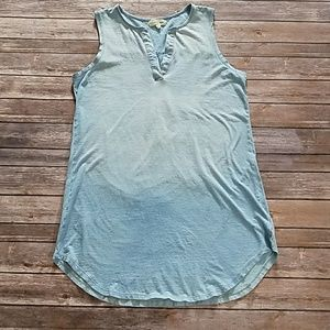 Tops - Cloth & Stone Ombre Chambray Tunic Top
