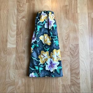 Urban Renewal floral skirt