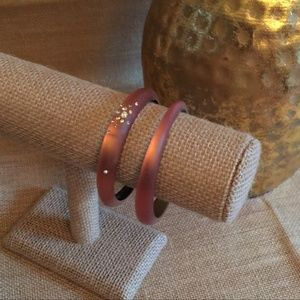Alexis Bittar Set of Two Bangles